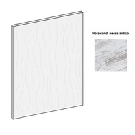 Holzelement weiss antico